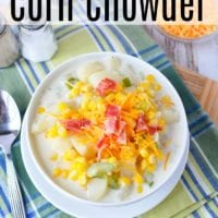 Crockpot Corn Chowder