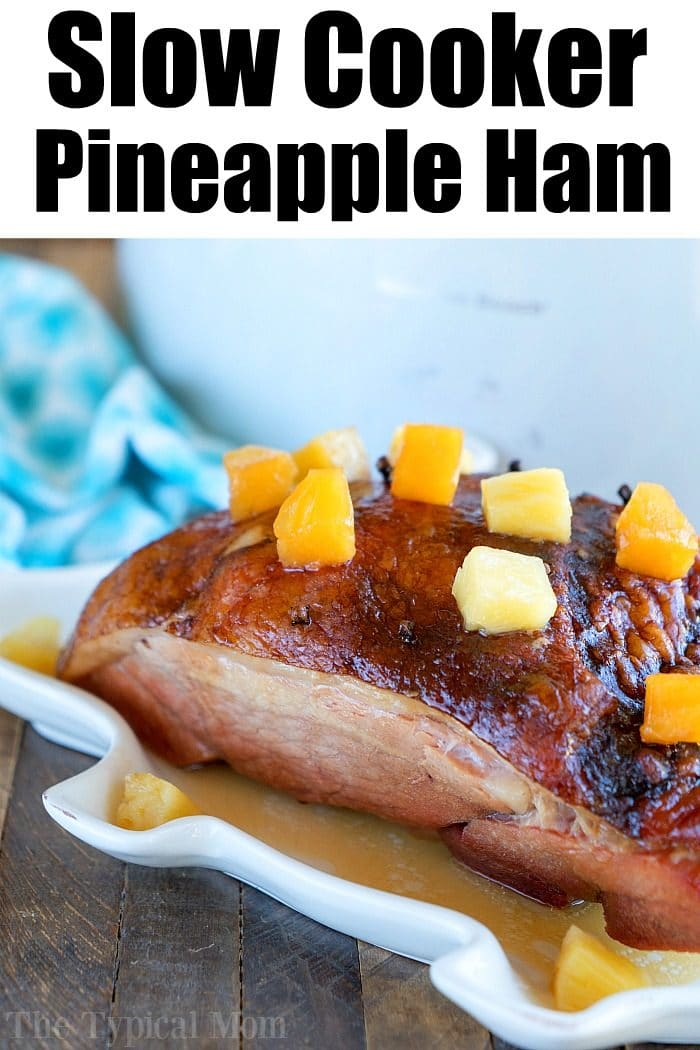 Crockpot Ham Recipe 3