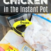 How To Cook Fresh or Frozen Instant Pot Chicken