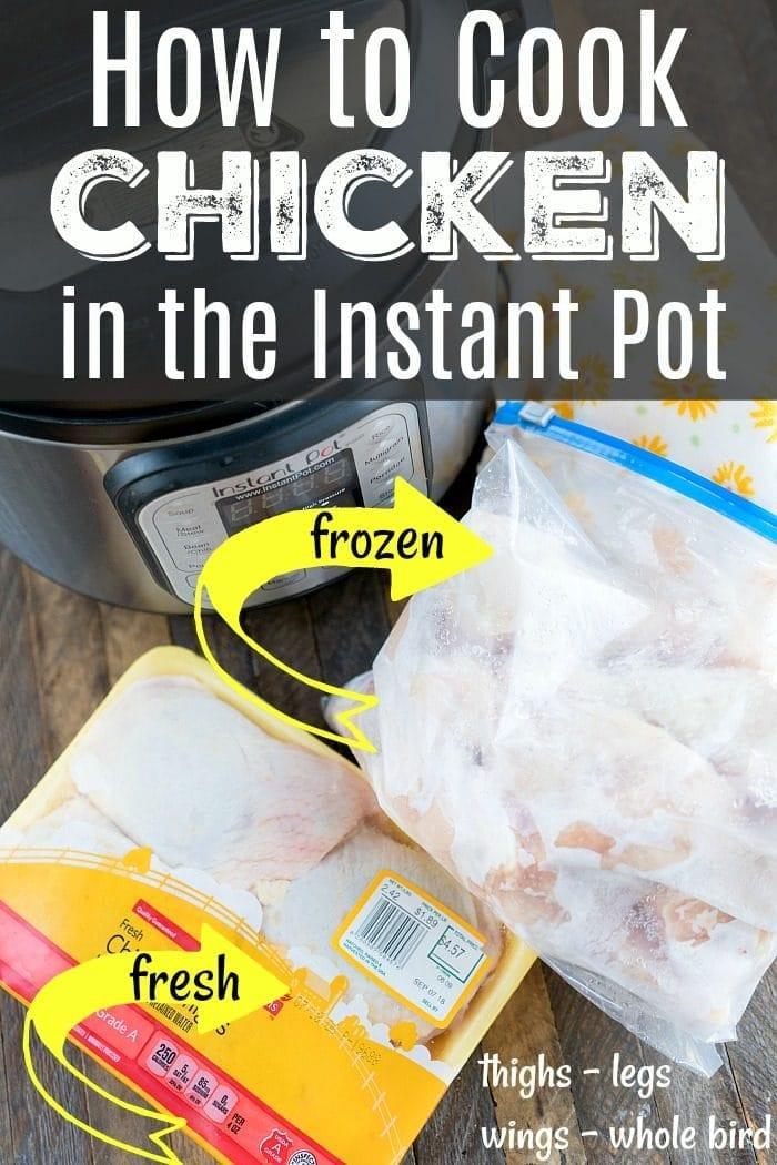 Instant Pot Chicken 2