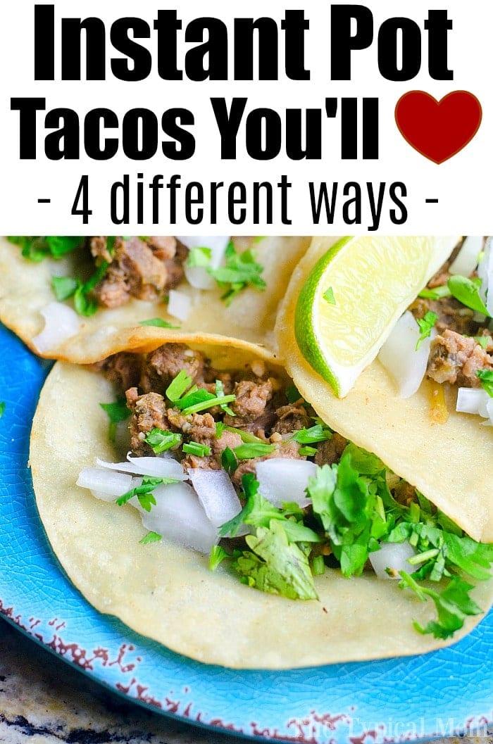 Instant Pot Tacos