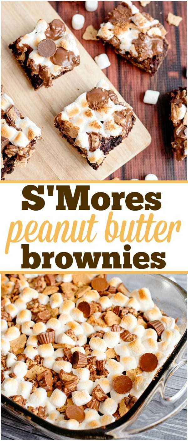 Peanut Butter Cup Brownies 3