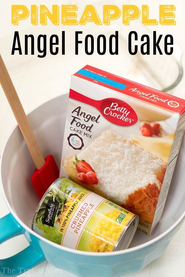 Pineapple Angel Food Cake Recipe 2