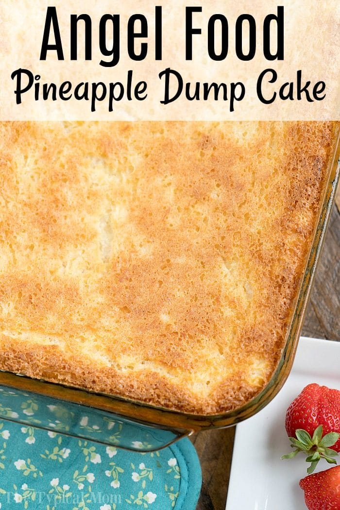 angel food dump cake
