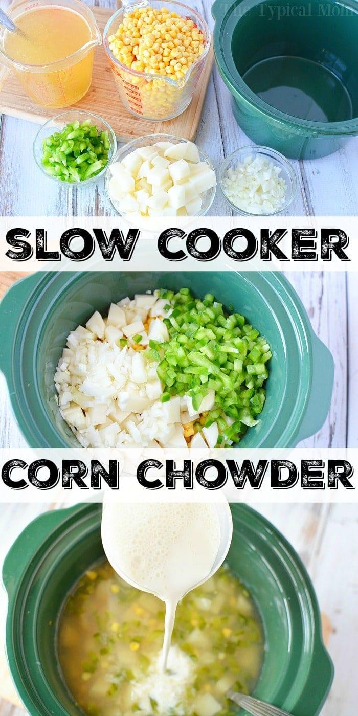 corn chowder crock pot recipe