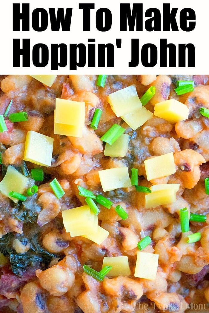 easy hoppin john recipe