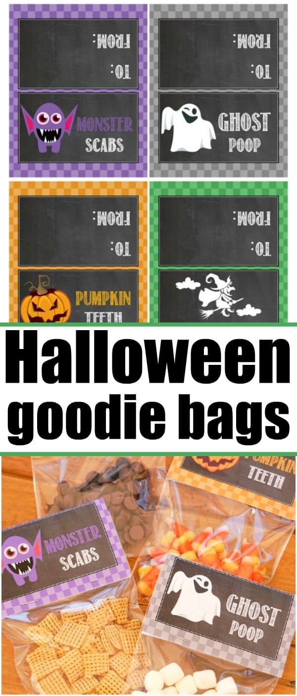 halloween goodie bags · the typical mom