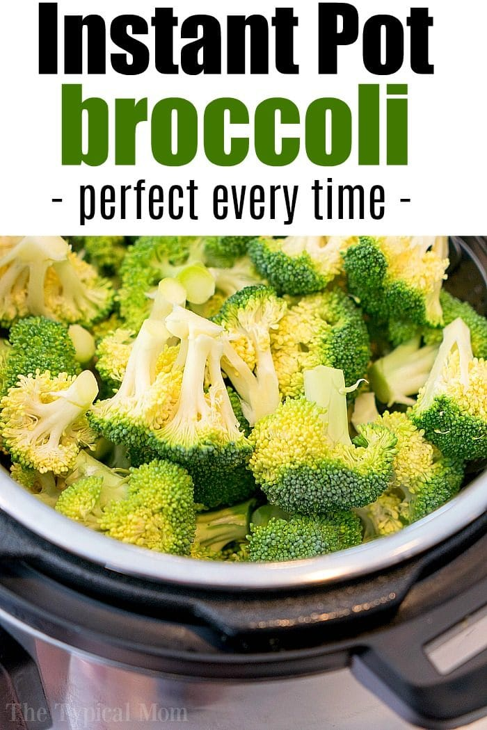 instant pot broccoli 2