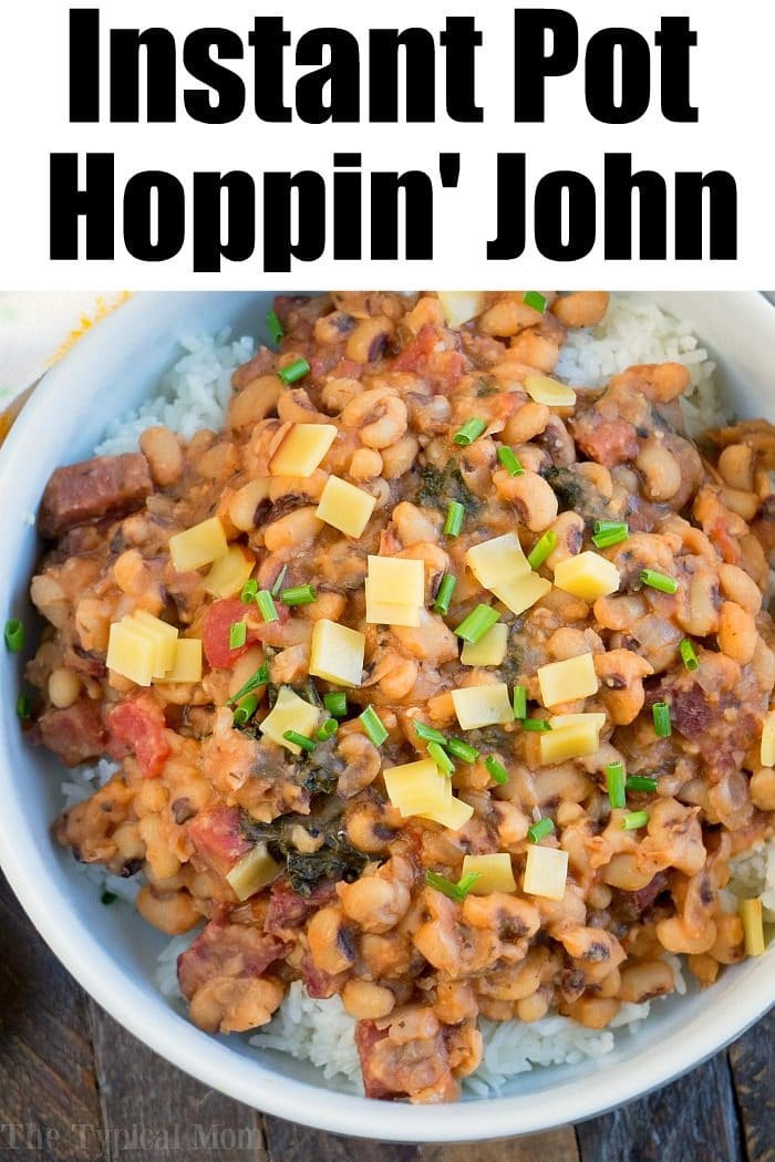 instant pot hoppin john 2