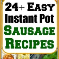 instant pot sausage recipes