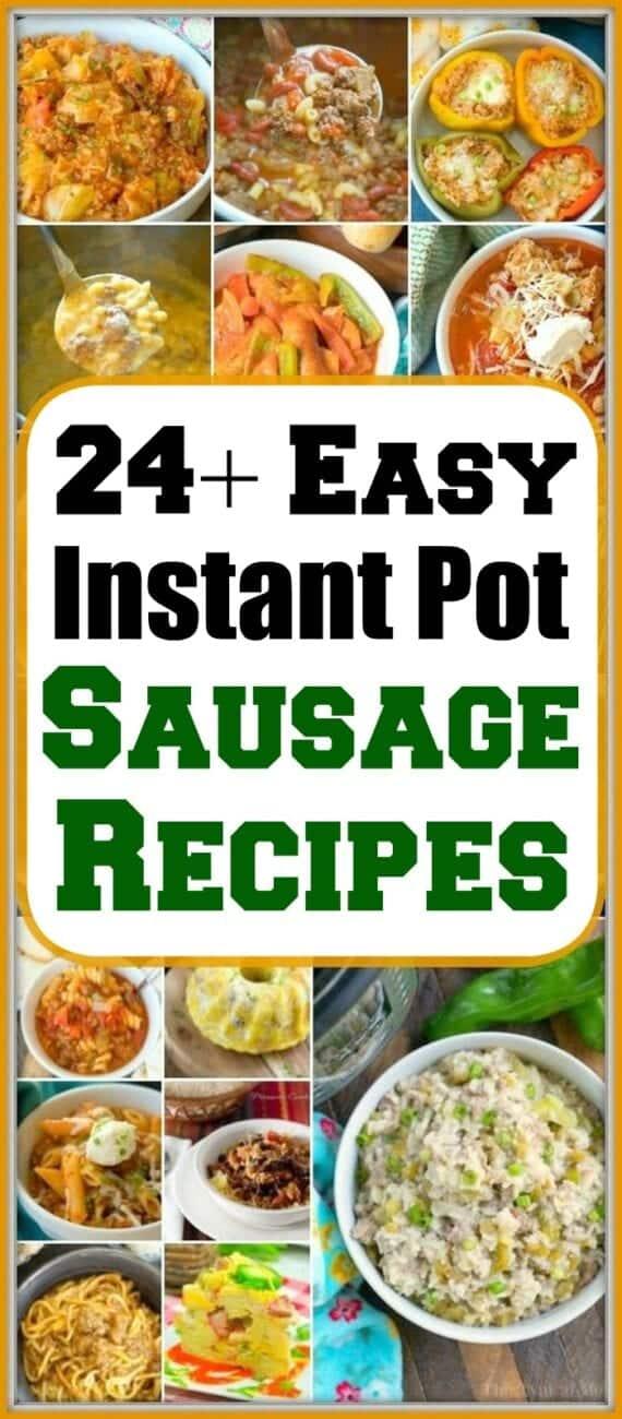 instant pot sausage recipes