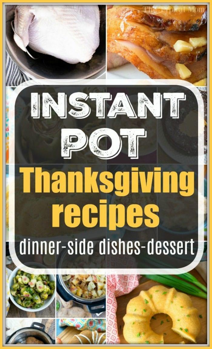 Instant Pot Thanksgiving Recipes 2