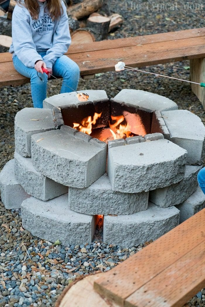 Cheap Fire Pit Ideas · The Typical Mom