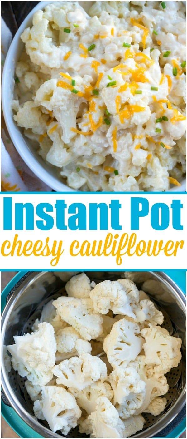 Cheesy Instant Pot Cauliflower 3