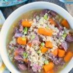 Instant Pot Barley Soup 3