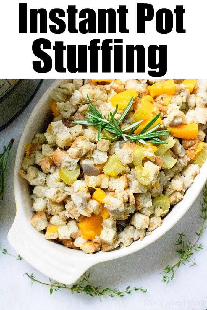 Instant Pot Stuffing