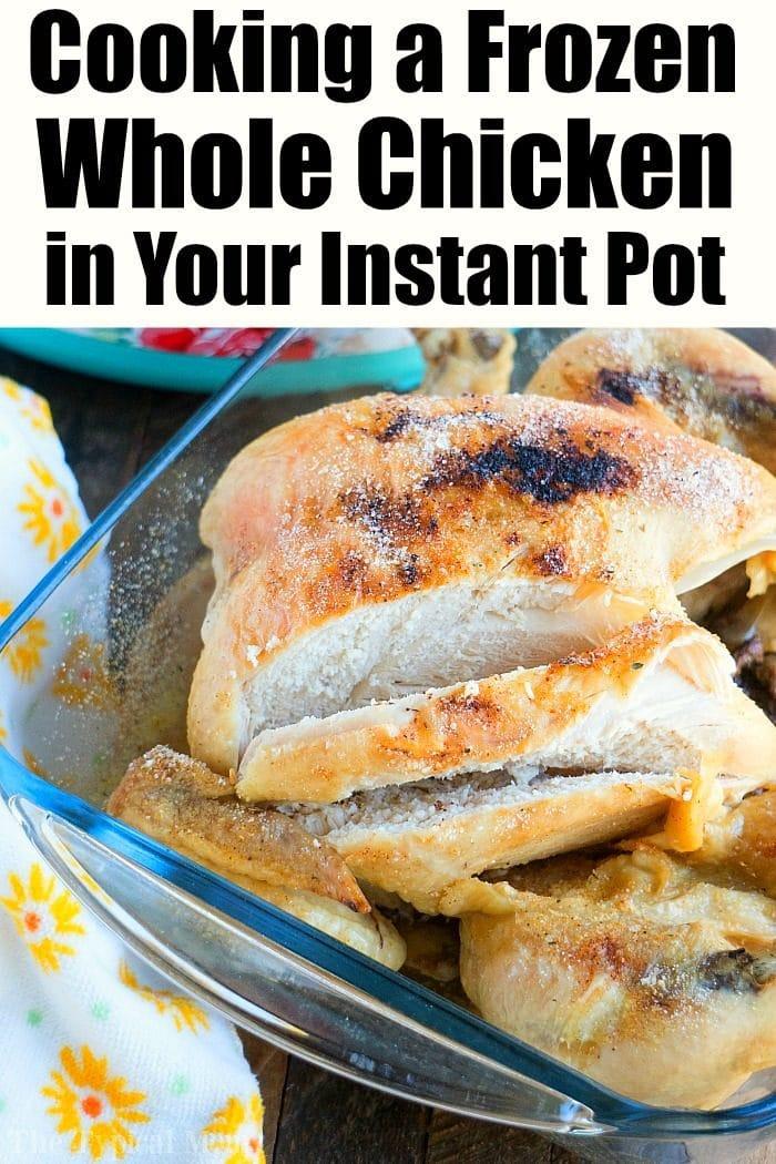 Pressure Cooker Frozen Whole Chicken