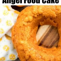 Pumpkin Angel Food Cake 2