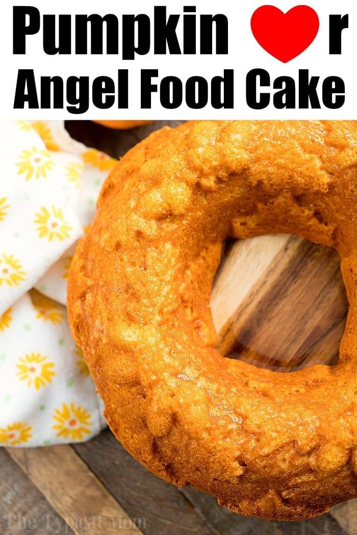 Pumpkin Angel Food Cake 2