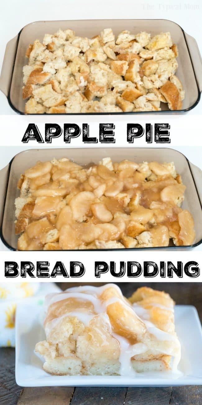 easy bread pudding recipe