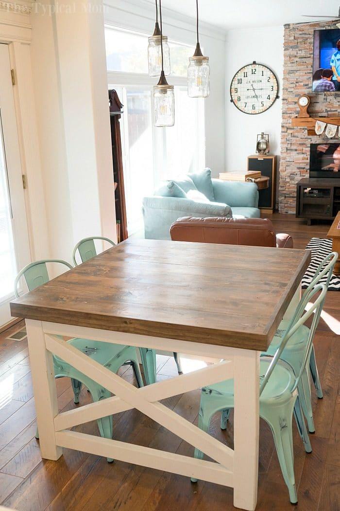 farmhouse style table 2