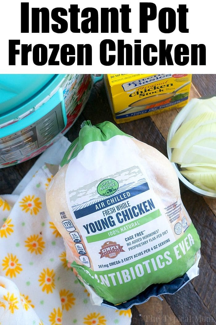frozen chicken in instant pot