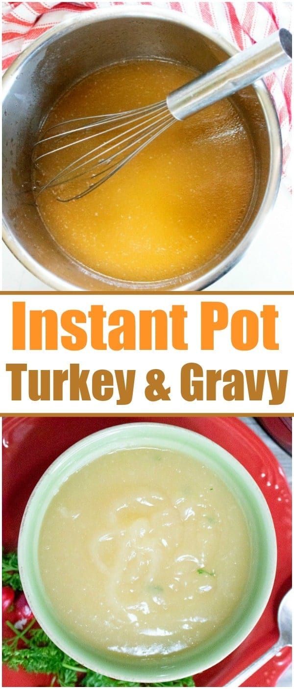 How to cook pressure cooker gravy & turkey this year for Thanksgiving or Christmas! If you're ready to use your Instant Pot during the holidays we can help. #instantpot #pressurecooker #turkey #gravy #easy #recipe #howtocook