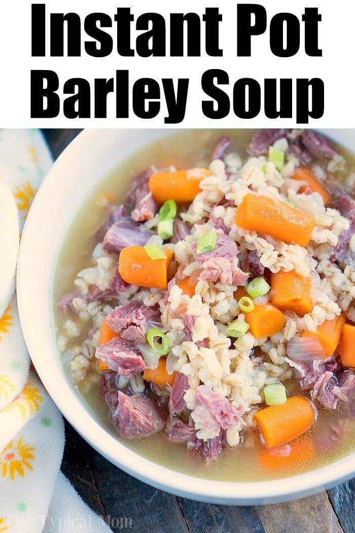 pressure cooker barley soup