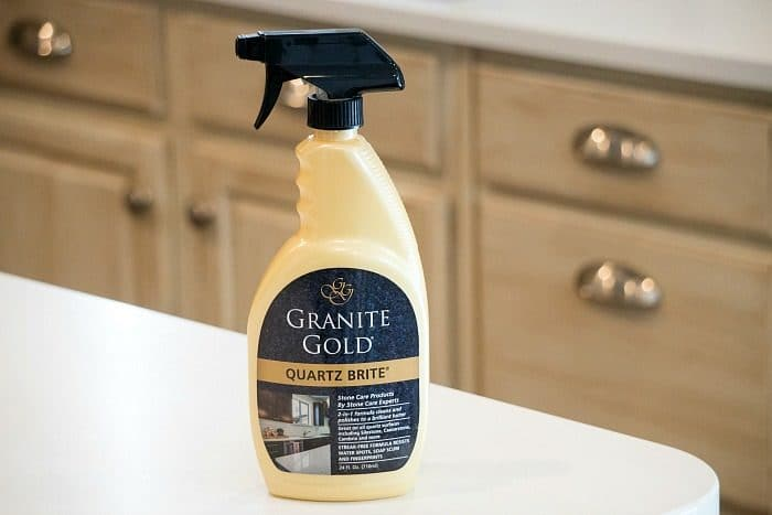 quartz countertop cleaner