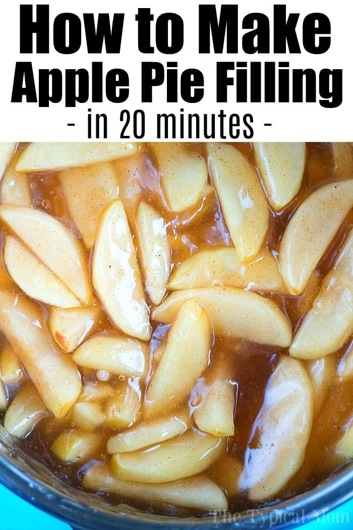 easy apple pie filling recipe