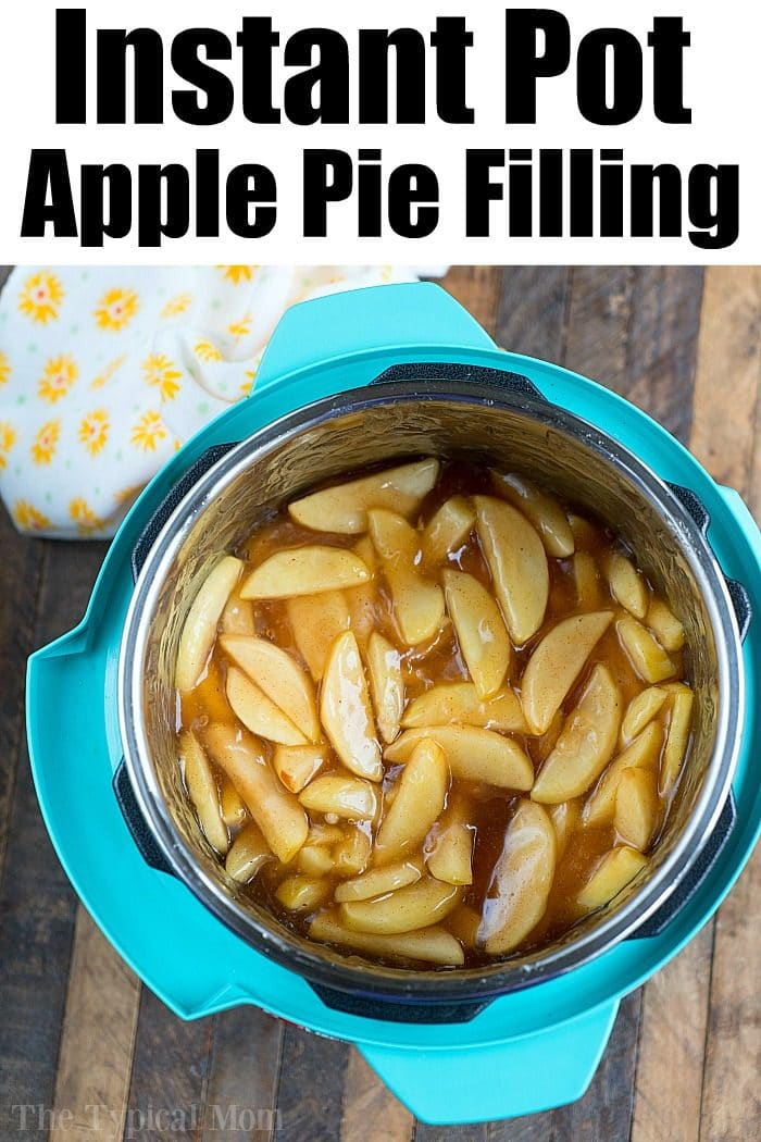 instant pot Apple Pie Filling