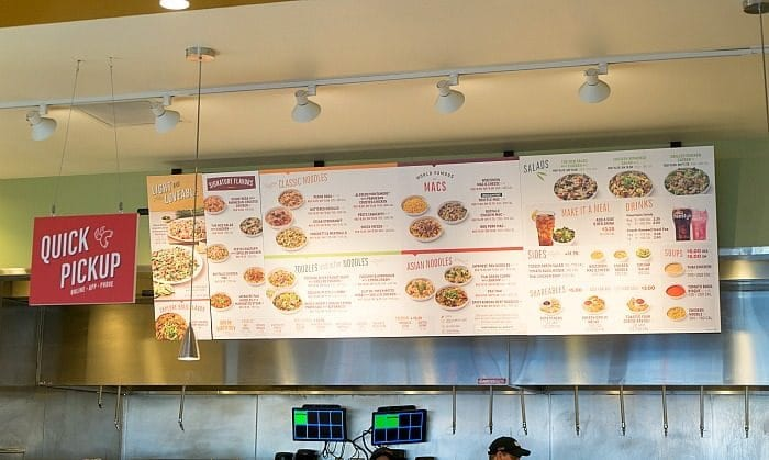 image relating to Noodles and Company Printable Menu identify Noodles and Enterprise · The Traditional Mother