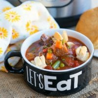 instant pot beef pot pie soup