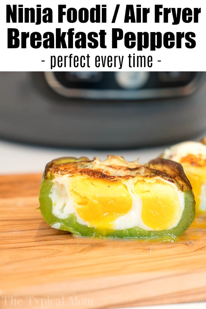 Air Fryer Breakfast Stuffed Peppers 2