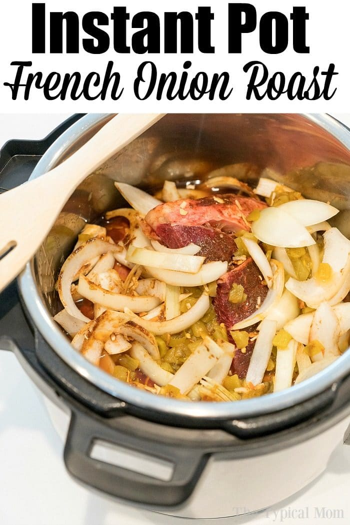 French Onion Pressure Cooker Roast