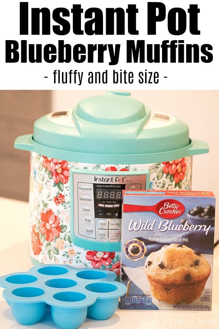 Instant Pot Blueberry Muffins 2
