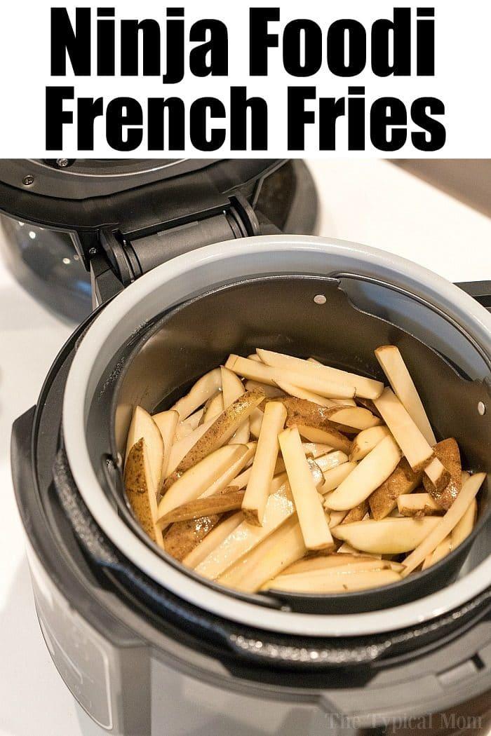 Ninja Foodi French Fries