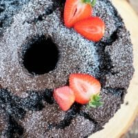 chocolate angel food cake 3