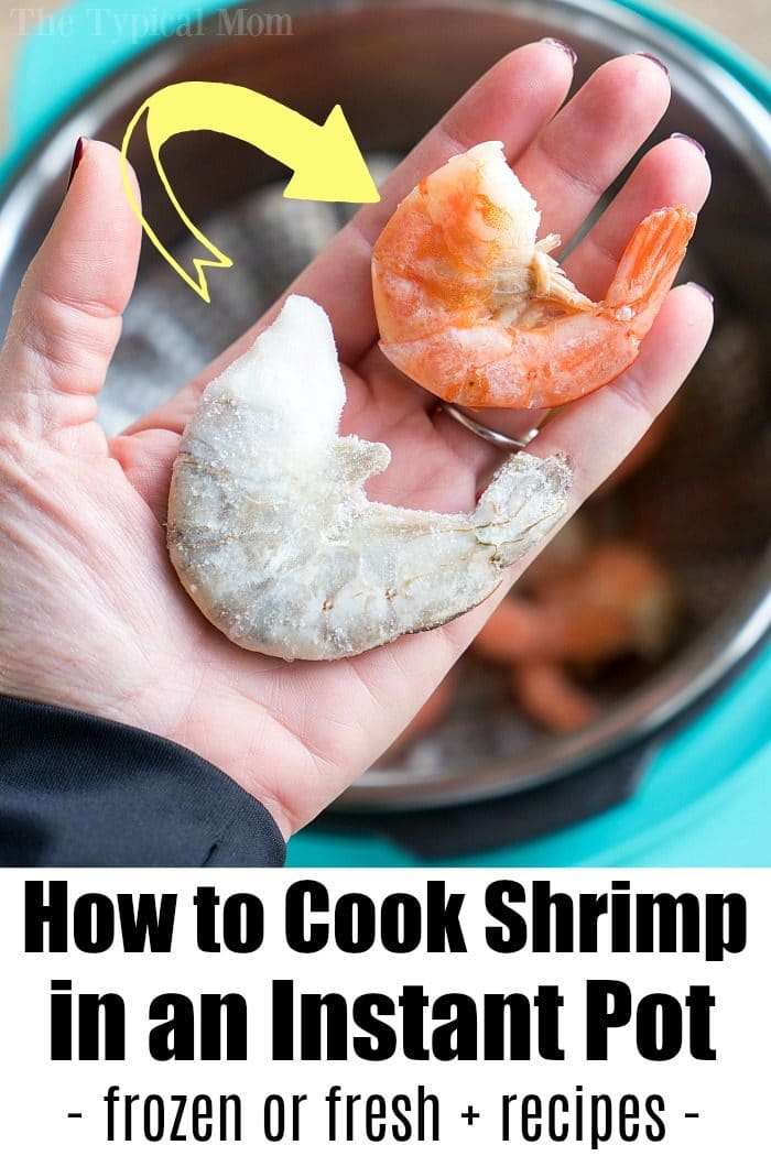 how to cook shrimp in the instant pot