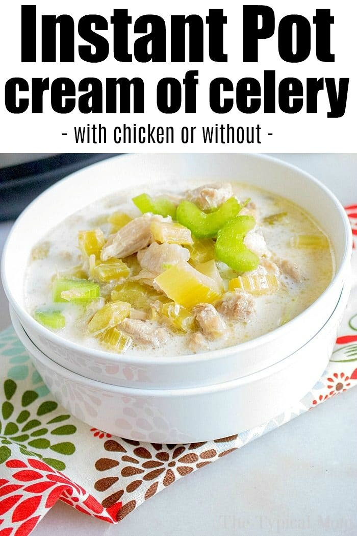 instant pot cream of celery