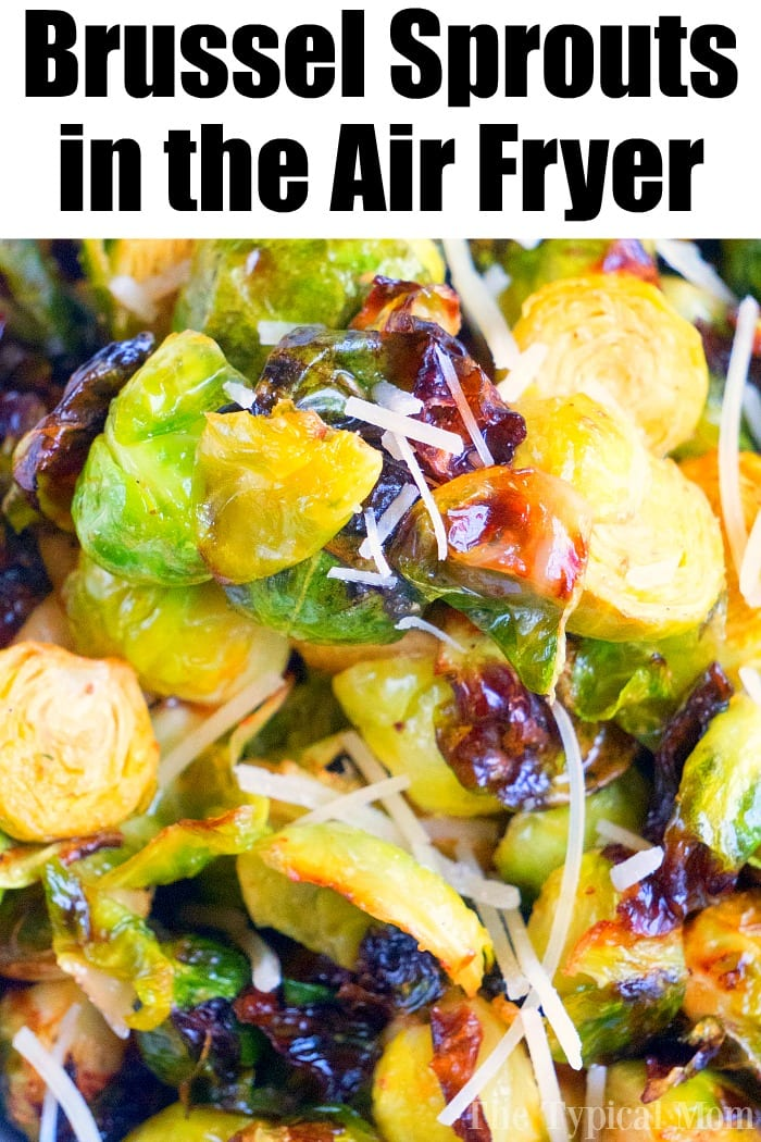 Brussel Sprouts in the Air Fryer