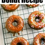 Gluten Free Baked Donut Recipe