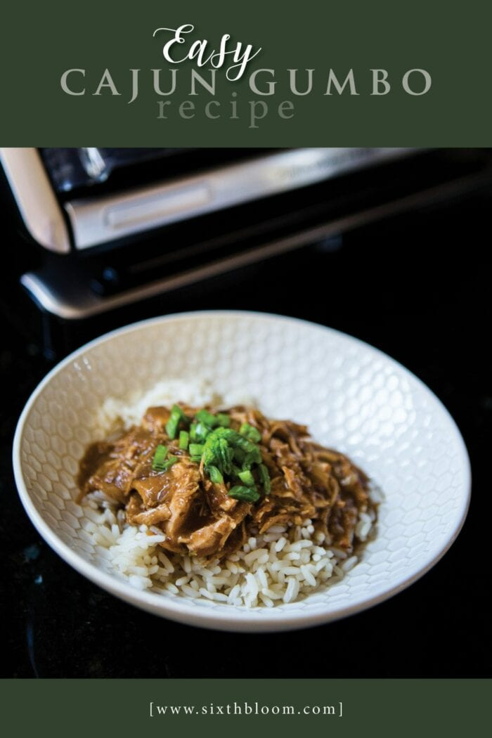 Instant pot chicken gumbo