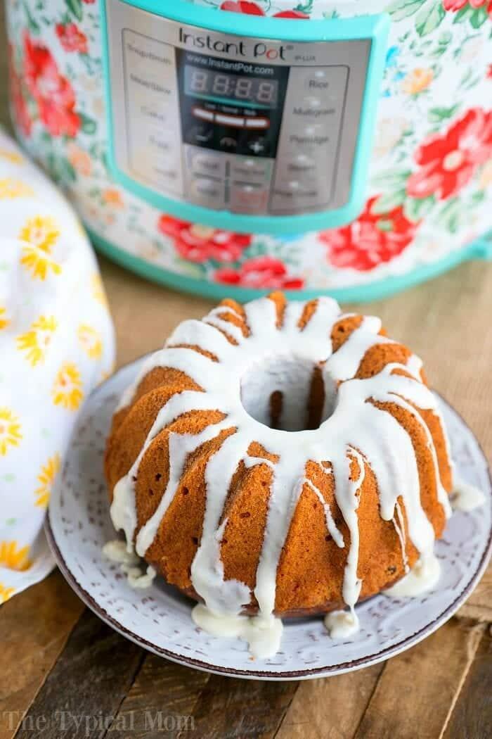 Instant Pot Carrot Cake 3