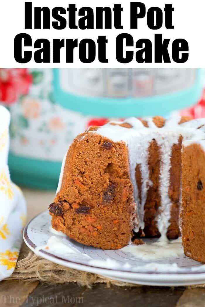 Instant Pot Carrot Cake