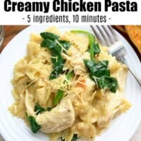 Instant Pot Chicken Pasta