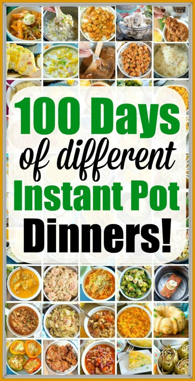 100 Days Of Instant Pot Dinner Recipes Your Family Will Love Instapot