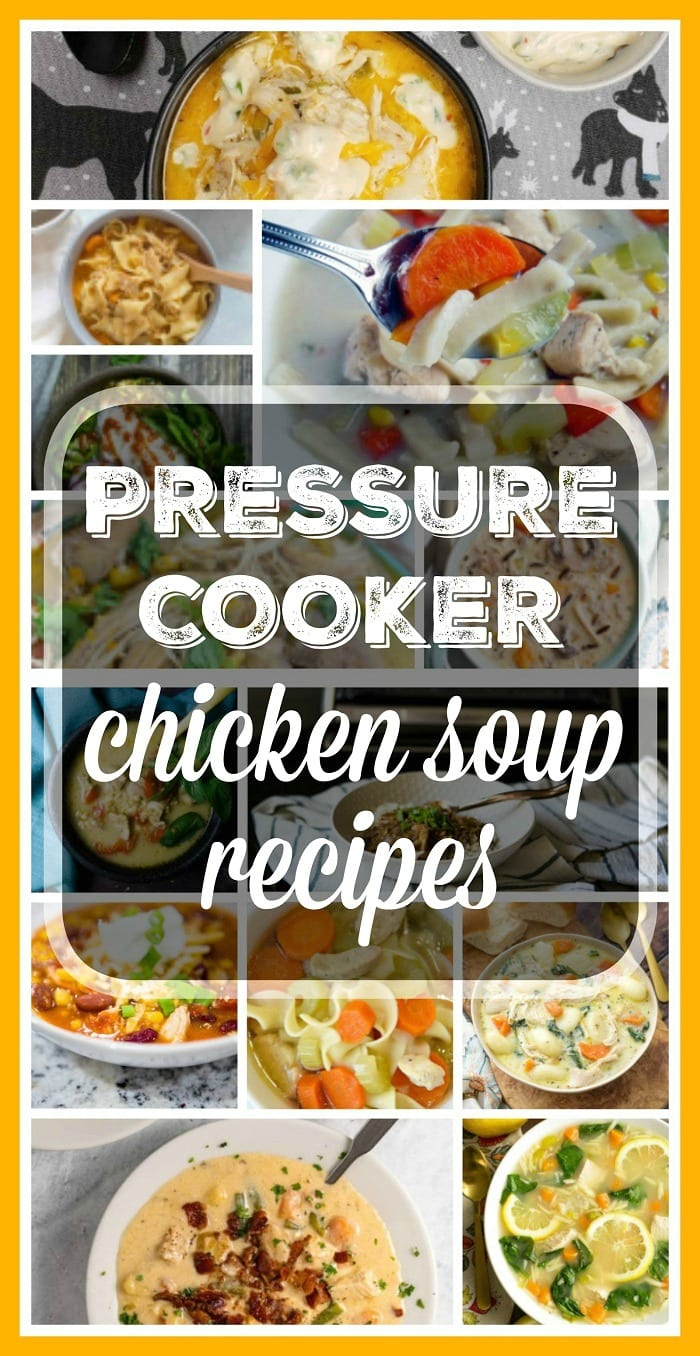 Pressure Cooker Chicken Soup Recipes
