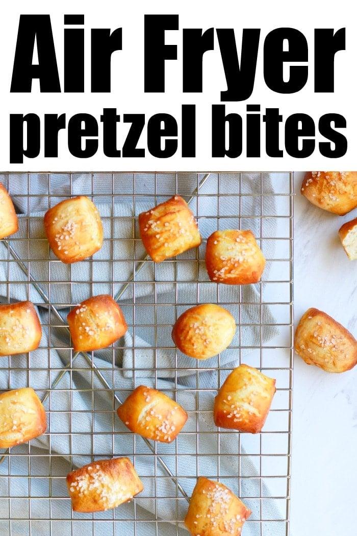 air fryer pretzel bites