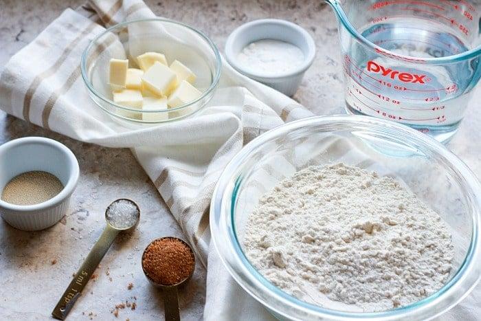 air fryer pretzel ingredients